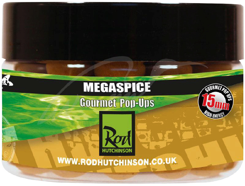 Rod Hutchinson Pop Ups Megaspice with Natural Ultimate Spice Blend 15mm