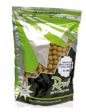 Фото — Бойлы тонущие Бойлы Rod Hutchinson Chocolate Malt / Regular Sense Appeal 1kg