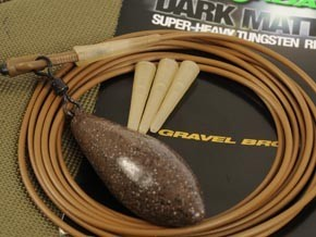 Korda Dark Matter Ultra Heavy Tungsten Rig Tube - Gravel