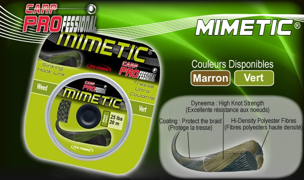 Fun Fishing Mimetic Mud (Hook Link Braid) 30lbs - 20m