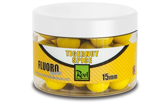 Rod Hutchinson Fluoro Pop Ups Tigernut Spice 15mm