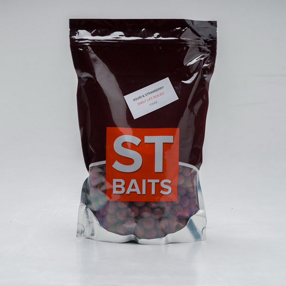 ST Baits Boilies Squid Octopus/Strawberry 20mm 1kg